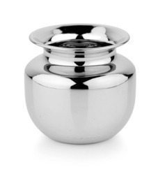 Stainless Steel Lota, Packaging Type: Box