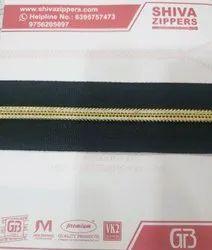 Golden Coil Zipper
