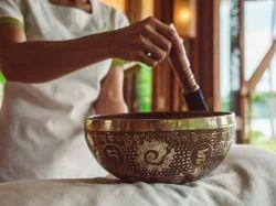 Etched Tibetan Singing Bowls