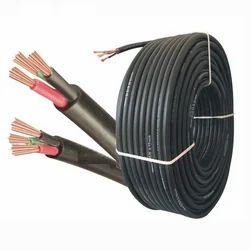 Black Metcab Electrical Round Wires, Packaging Type: Bundle