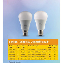 Cool Daylight Opple 4W Tunable And Dimmable Bulb, Color Temperature: 6500K , 140054668