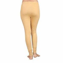 Ladies Cotton Lycra Plain Leggings, Size: XL