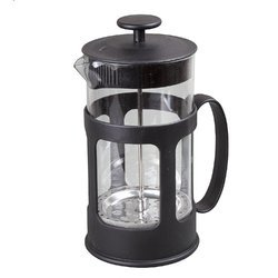 Kawachi French Press Coffee Plunger, Tea Maker Iron Chromed 800 ml