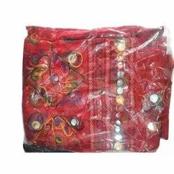 Party Wear Red Ladies Designer Cotton Stole