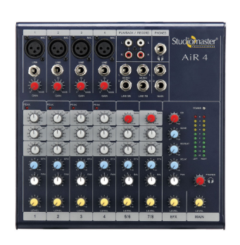 Studiomaster Air 4 Audio Mixers