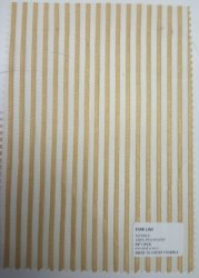 100% Polyester Embroidery Striped Fabrics