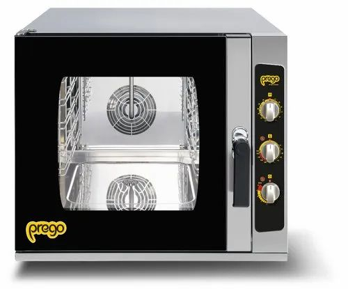 Industrial Gray Combi Oven CO0523EM - PREGO, Size/Dimension: Small