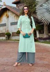 PR Fashion launched Beautiful Designer Readymade Kurti And Palazzo Set