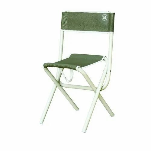 Mukhi Industries Fabric Aluminium Folding Chair for Outdoor