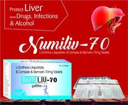 L-Ornithine L-Aspartate Silymarin multiviamin Tablets