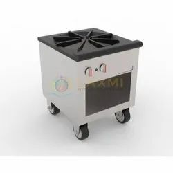 Laxmi Stainless Steel Stock Pot Stove