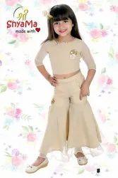 Georgette Baby Girls Kids Wear