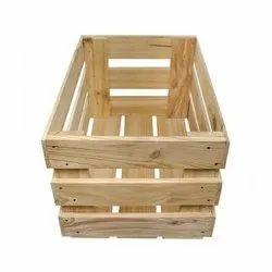 Pine Wood Crates Box