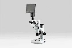 Stereo Zoom Fluorescent Microscope