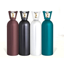 Stainless Steel Industrial Gas Cylinder, 50 L