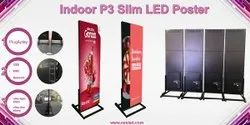 Linkable Media Advertising High Brightness Full Color Smd P3 Indoor Led Poster Display