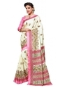 Party Wear Manipuri Silk Printed Saree