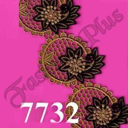 New Decorative And Best Design Colorful Zari Lace