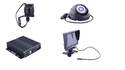 Vehicle CCTV Solution Trano 4 Channel  MDVR for Vehicles