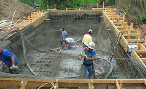 Attractive Swimming Pool Construction