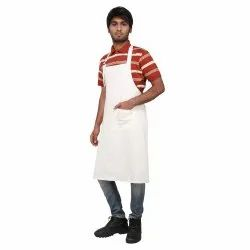 Adjustable Bib Pockets Unisex Kitchen Apron