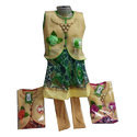 Synthetic Cotton Girls Trendy Frock Suit
