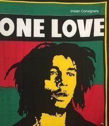 Bob Marley Antique Style Pattern Mandala Wall Hanging