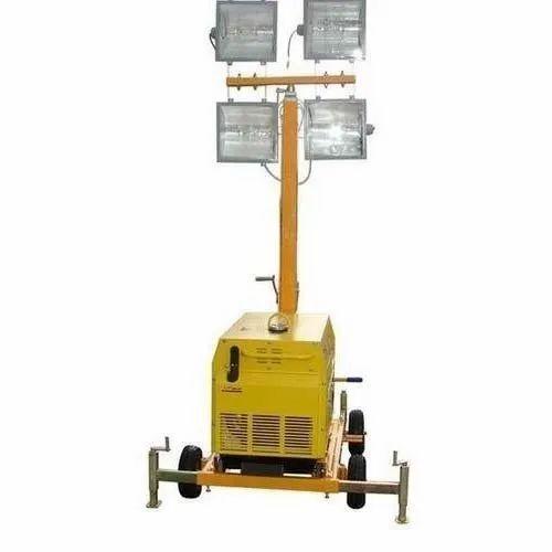 High Mask Flood Light Tower Rental Service