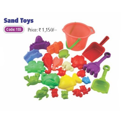 Plastic Sand Toys, Child Age Group: 0-3 Yrs,4-6 Yrs