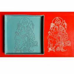 Ganesha Dotted Rangoli