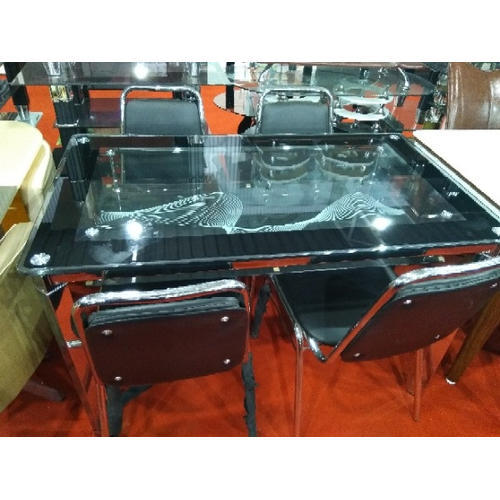 4 Seater Glass Dining Table Glass Dining Room Table Glass Dining