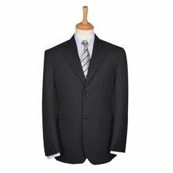 Black Formal Men Corporate Coat