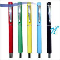 Plastic Roller pen with Chrome Parts