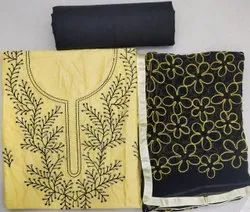 Sequence Embroidery Work Suit Material