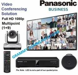 Panasonic Video Conferencing System: Multipoint 10-Sites Connection with 12x Optical Zoom