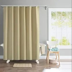 72 X 84 Inch Gold Solid Stripe Shower Curtain