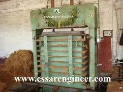 Coconut Husk Baling Machine
