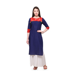 Simple Printed Kurta