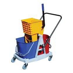 Wringer Trolly Two Bucket