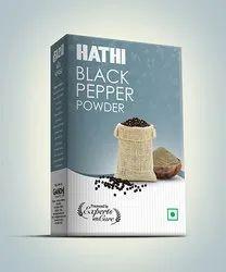 Hathi Black Pepper Powder, Packaging Size: 50g
