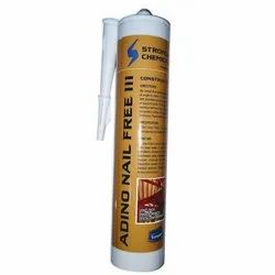 Beige Silicon ADINO NAIL FREE 111-CONSTRUCTION ADHESIVE, Grade Standard: Industrial Grade, Packaging Size: 320 G