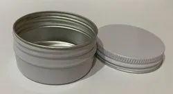 Aluminum Metal Screw Lid Container