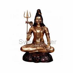 Brass Shiva Idol