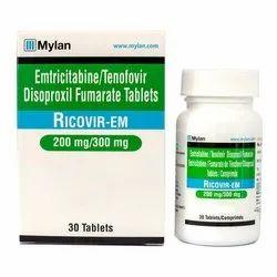 Emtricitabine & Tenofovir Disoproxil Fumarate Tablets