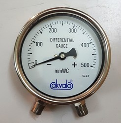 Low Pressure Differential Gauge (w/o Static Pressure)
