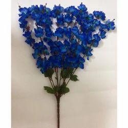 Blue Artificial Flower