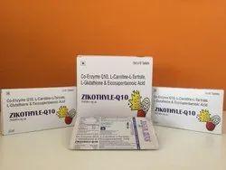 Co-Enzyme Q10, L- Carnitine L- Tartrate L-Glutathione & Eicosapentaenoic Acid Tablets