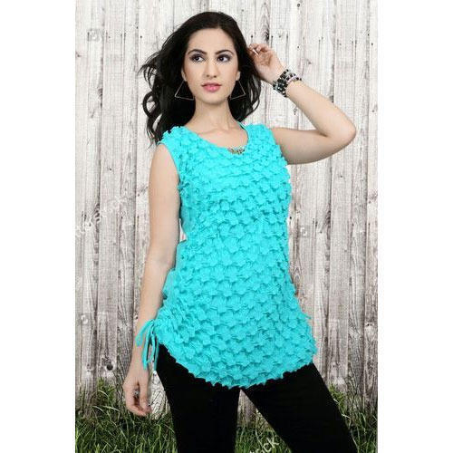 668579ae3 Party Wear Sleeveless Girls Fancy Top, Rs 150 /piece, Piyush ...