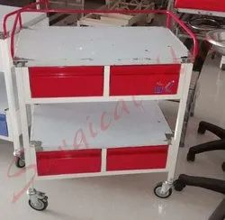 Medicine Trolley With 4 Drawer