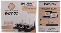 Zebion WIFI 4CH CCTV Camera